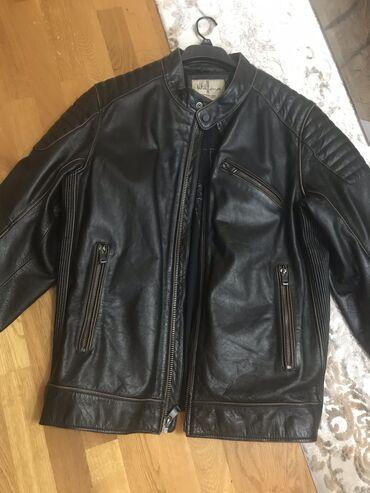 Muske kozne jakne - Srbija: Kozna muska jakna nosena xl velicina kupljena u Americi marka Wilson c
