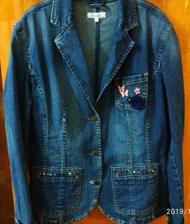 Джинсовая куртка, размер 48,в идеальном состоянии. в Бишкек