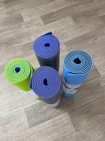 Коврики для йоги и спорта.  Двухслойные йога маты толщиной 7 мм
