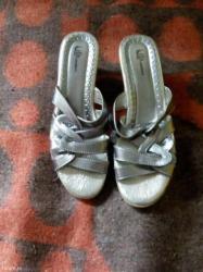 Ženska obuća | Sremska Kamenica: Papuce,broj 38,ocuvane kao nove