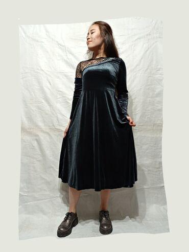 куплю платье в Кыргызстан: Вечернее платье (ткань бархат)