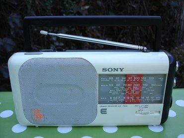 Veoma kvalitetan radio tranzistor sony, model icf-750s. Jako lepo - Novi Sad