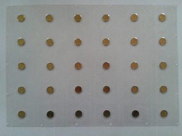 1 тыйыновые монеты, в блистере, в одном в Лебединовка