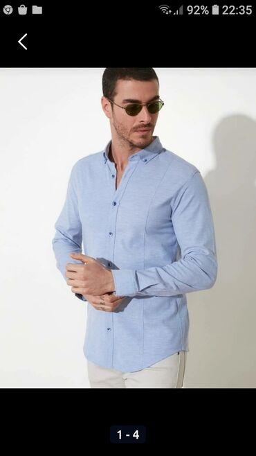 Рубашка мужская от Zara Man. Размер 42. Состояние отличное, один