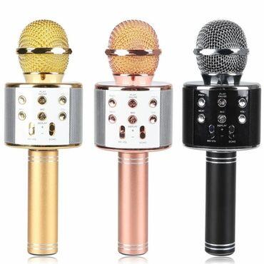 Mikrofonlar - Azərbaycan: Original Karaoke mikrafonlarQiymet: 40 azn-Yenidir.-Ikinci el