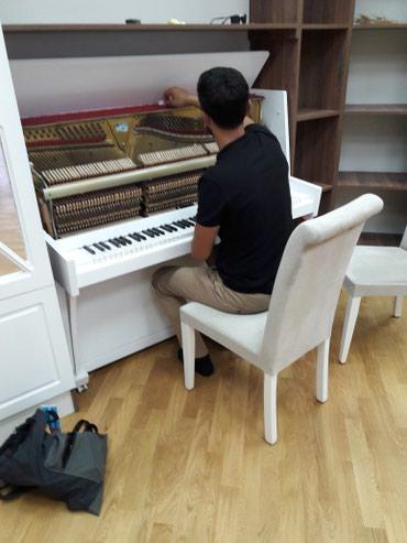 Bakı şəhərində Pianino koklenmesi temiri ve renglenmesi