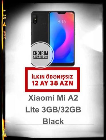 Elektronika İsmayıllıda: Yeni Xiaomi Mi A2 Lite 32 GB qara