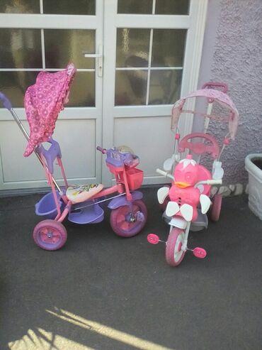 Bicikle na tri tocka za devojcice