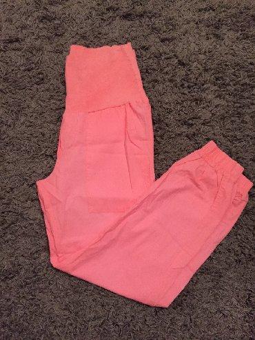 Pantalone-dublje-mekane-i-rastegljive-xl - Srbija: Calliope Trudničke pantalone, nove nenošene, rastegljive, pamucne