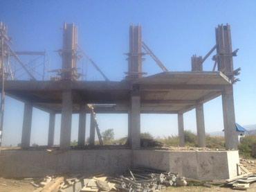 строительные леса в комплекте в Кыргызстан: Сдаю фанеру. лес. тайрот. стойки. колонны. бетономешалка. опа