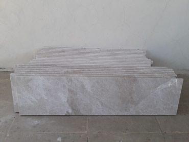 Gəncə şəhərində Satiram turkiye istesali mermer podokolnik qaliniqi 3Sm.eni 40 sm