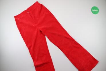 Жіночі яскраві штани, р. S    Довжина: 105 см Довжина кроку: 77 см Нап
