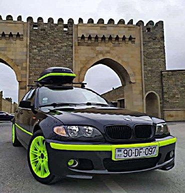 bmw-x5-m-44-xdrive - Azərbaycan: BMW E46 port bagaj
