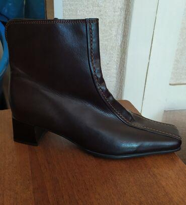 Новая демисезонная обувь из Германии, натуральная кожа, размер 36-37