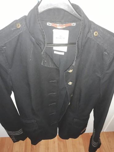 Replay jakna zensaka postavljena teget sa detaljima laka za - Loznica