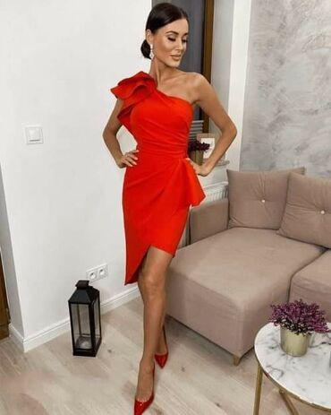Haljina-crvena-ic - Srbija: Crvena haljina