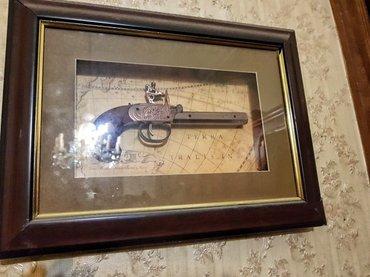 Bakı şəhərində Qedimi panno revolver pistalet germaniya istehsali 1990illin