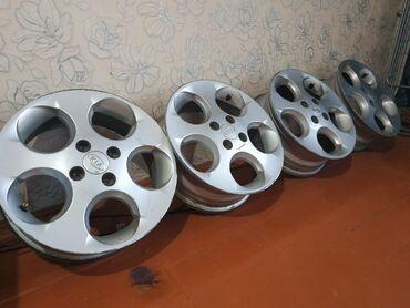 глобал шина в Кыргызстан: ЦЕНА ОКОНЧАТЕЛЬНАЯ! СРОЧНО!Диски R15 4х100 оригинал корейскиеОчень