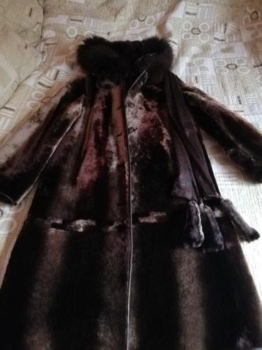 Шуба из мутона с шапкой все новое в Бишкек