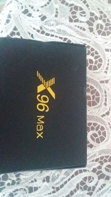 tv box x96 max - Azərbaycan: Android Smart-box: X96 Max  Yenidir. Alınıb, sadəcə istifadə olunmayıb