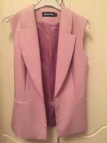Пиджак розовый размер-38 или 42 или С. в Бишкек
