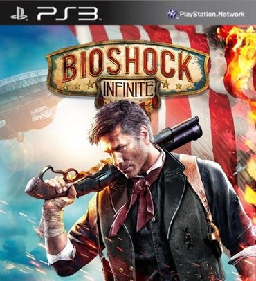 """Bakı şəhərində """"Bioshock Infinite"""" Ps3 diski"""
