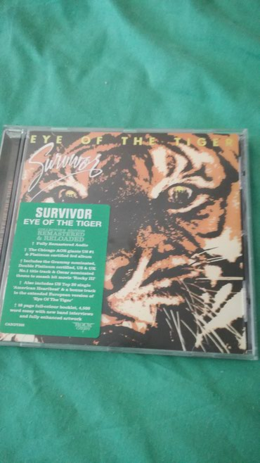 Survivor - Eye Of The Tiger Rock Candy Remastered CD σε Agii Anargyri