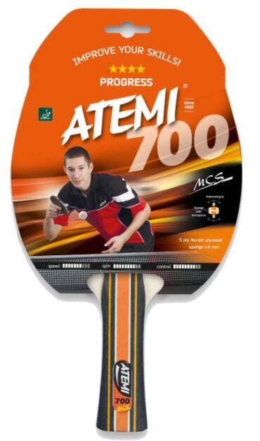 Новое поступление! Ракетки для настольного тенниса Atemi 700CV