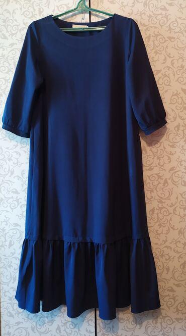 женское платье без рукавов в Кыргызстан: #Платье женское Б/У рукава 3/4 Размер 46-48 800 сом НАХОДИТСЯ В ЛЕБЕДИ