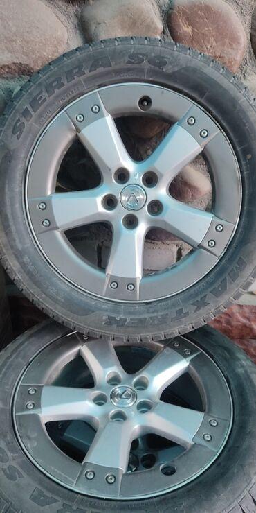 очок кана проект in Кыргызстан   БАРБЕКЮ: Продаю шины с дисками 18 оригинальные с Харьера. Подходят на RX-330. В