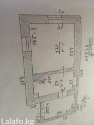 Cдается 2 к дом + барак из 13 комнат, общая площадь 190 м2,есть двор в Бишкек