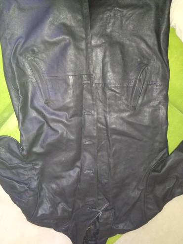 Мужской кожаный плащ в Бишкек