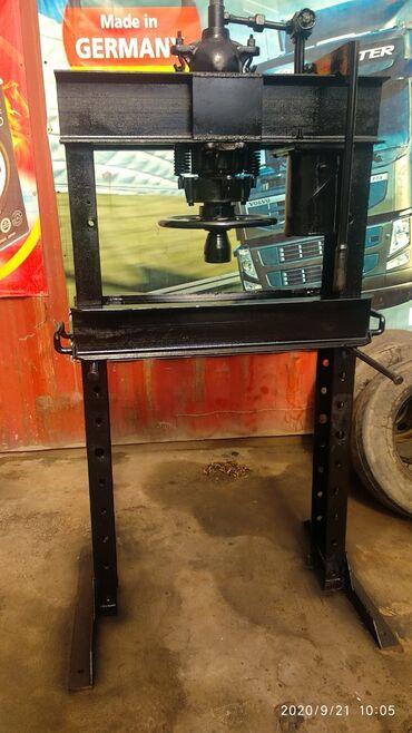 Услуги - Балыкчы: Пресс миханический 25 тон все сальники заменены