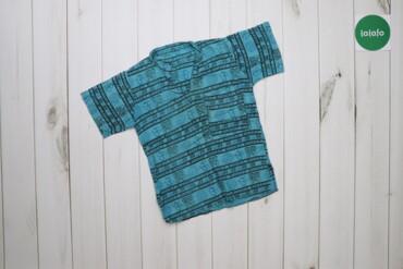 Топы и рубашки - Голубой - Киев: Дитяча сорочка з орнаментом    Довжина: 43 см Ширина плечей: 28 см Рук