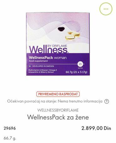 Wellness pakovanje za zene Cena je 2300 din