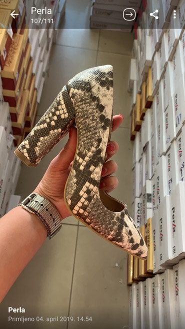 Perla cipele uvoz Turska. Brojevi 36-40. Slabje brzom postom ili licno - Belgrade