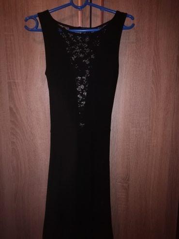 Haljina-za-trudnicesirina-ledja-cmduzina-haljinr - Srbija: Crna haljina, deo kod grudi napred je cipkan. Cela ledja je isto