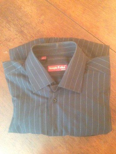рубашка б/у , длинные рукава , размер 56 (оригинал)  в Бишкек
