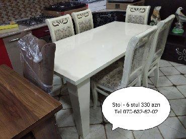 Дом и сад в Агдаш: Stol stul Ağdaş rayonundadir