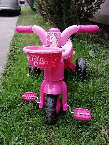 Sport i hobi | Batajnica: Tricikli za devojcice, ocuvan bez tragova ostecenja. Od 2 - 5god