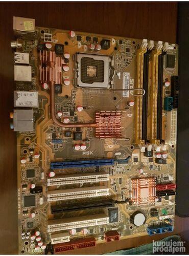 Asus p835 - Srbija: Na prodaju dobra Asus p5k maticna-socket 775 ddr2 Uz plocu ide i