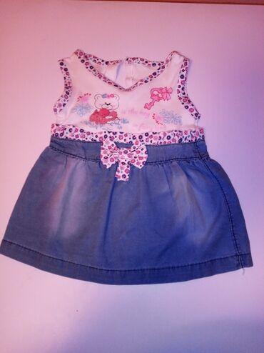 Ostala dečija odeća | Novi Knezevac: Decije pantalonice i haljinica, velicina 80,polovna,ocuvana,bez ostece