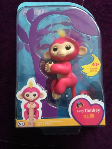 Wowwee fingerlengs monkey интерактивная игрушка в Бишкек