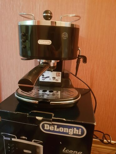 Кофеварка рожковая delonghi eco-310bk  технические характеристики  тип