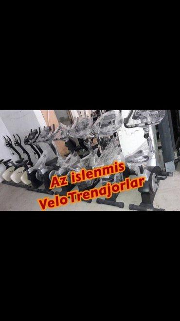 Bakı şəhərində 140-150 kiloluq velotrenajorlar.Turkiyeden az islenmis sekilde