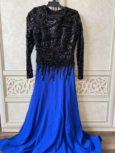 шикарные вечерние платья в пол в Кыргызстан: Платье мечта!!! Продаю вечернее платье, почти новое, одевала один раз