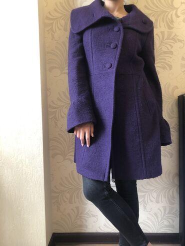 Пальто - Размер: M - Бишкек: Пальто MEXX шерстяное, размер 42 европа (наш 48), состояние идеал