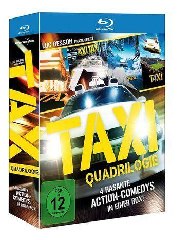 TAXI - sva 4 filma, sa prevodom, u paketu!Cena celog paketa je 299