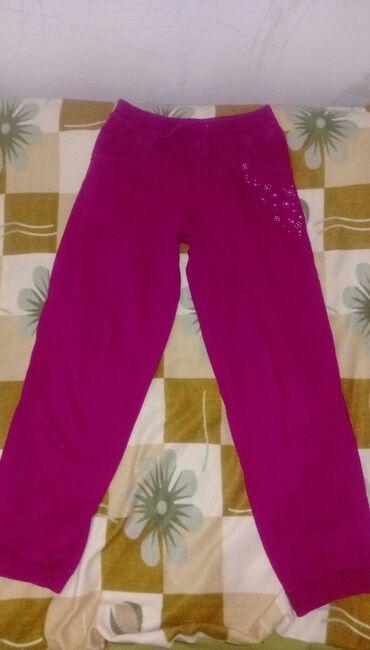 Х/б штаны подростковые, новые, но один раз постираны. Оказались малы