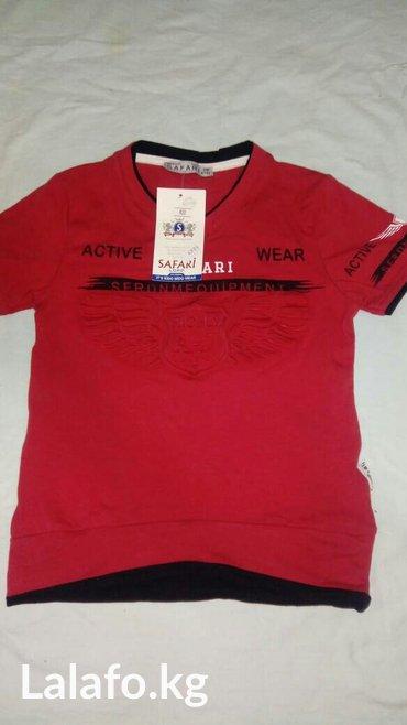 футболка на мальчика 4-5 лет, покупали за 480, производство Турция в Бишкек
